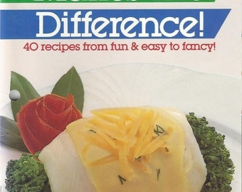 Land O Lakes Cheese Makes the Difference Vintage Booklet, 1986