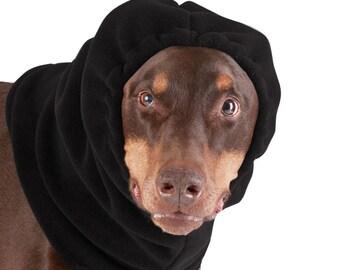 DOBERMAN PINSCHER Dog Hood, Dog Hat, Snood