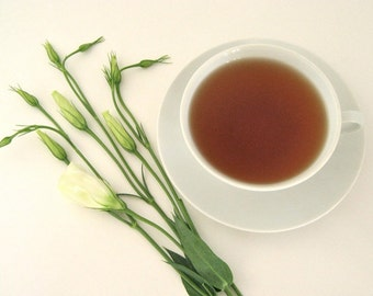 Vanilla Rooibos Herbal Tea • Rich Creamy Flavor • Caffeine Free & No Calories • Luxury Loose Leaf Blend