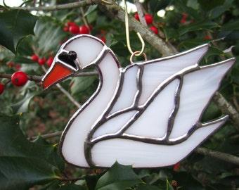 Swan Ornament / Suncatcher
