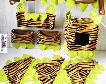 Sugar glider jungle cage set