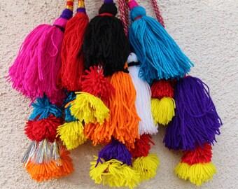 Put a Pom Pom on it Camel Swag Pom Pom, Tassel, Decoration, Bohemian Gypsy Fashion Design, Upcycling, Accessory, Choose your Color