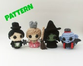 Wizard of Oz Dolls Pattern / Amigurumi Doll Pattern / Crochet Doll Pattern / Christmas Doll Pattern / Kids Toys / Baby Pattern / Toy Pattern