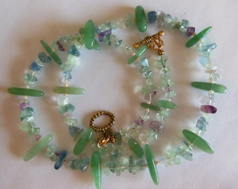So tender, green gemstone Necklace  471