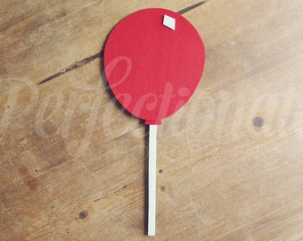 Balloon Photo-Booth Prop on a Stick | 7 Colors Available | Carnival Birthday | Circus Birthday | Carnival Decoration | Circus Decoration