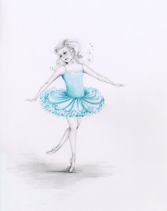 ballerina pencil drawing - photo #35