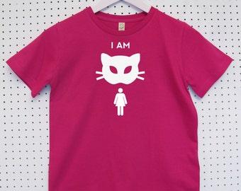 I am Cat woman Child's Organic Cotton T Shirt