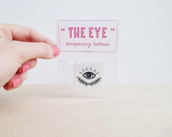 "Gunner Jackson - ""The Eye"" - Temporary Tattoos - 3 PK"