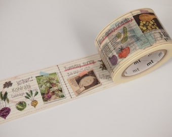 mt ex DIARY OF COOK, recipe Washi Tape (30mm X 10M)