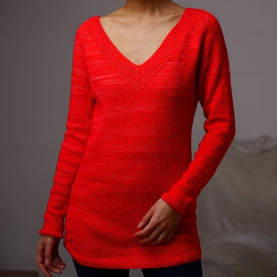 Knitting Summer Tunic : Knitting pattern pdf paprika tunic simple summer lightweight