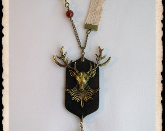Necklace - Deer