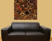 Mechanical Wall Sticker Decal Art – Twisted by Lyle Hatch
