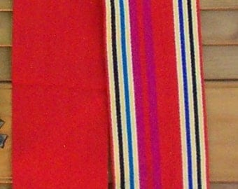 Bright Stripe Japanese Sash Belt