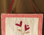 Spring Quilted Mini Wall Hanging 3