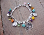 Custom made charm bracelet..Lets work together to make your perfect bracelet.