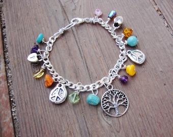 Custom made charm bracelet..Lets work together to make your perfect bracelet.