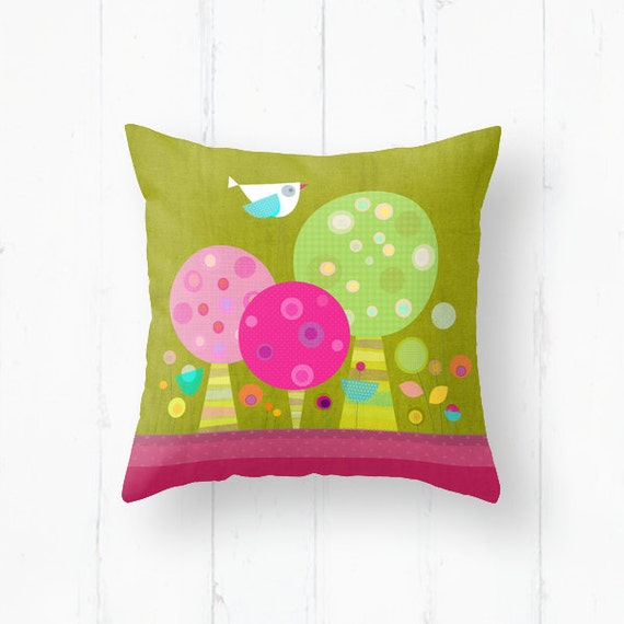 Throw Pillows Nairobi : Kids pillow kids throw pillow nursery throw by Lespetitsbuttons