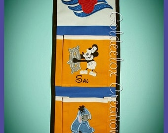 2 Pocket Fish Extenders for Disney Cruises Custom Orders Only