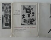 vintage art pamphlets, The Museum of Modern Art Bulletins from 1950's from Diz Has Neat Stuff