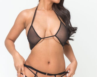 Wild and Playful Sexy Lingerie Set Mature