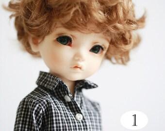 Miss yo Miss yo checker inner shirt for YoSD 1/6 BJD - doll outfit / cloth - Type 1
