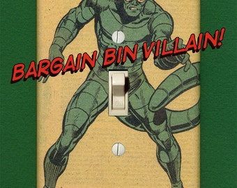 Scorpion - Super Villain Light Switch Plate