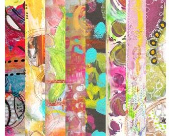 Art Strips - #3 - Printable Art Sheet