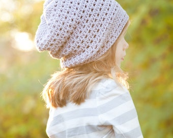Slouchy, Cap, Unisex, Crochet Slouch, The Cade Cap (Toddler, Child, Adult Sizes) MADE TO ORDER