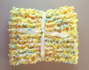 Easter Baby Blanket Photography Prop Springtime