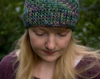 The Mermaid Crochet Beanie Hat