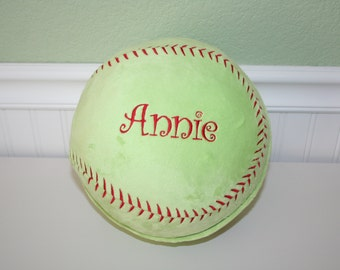 PERSONALIZED Sports Pillow