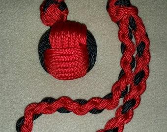 ball u0026 chain paracord monkey fist - Monkey Fist