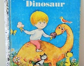 Vintage A Little Golden Book - My Little Dinosaur