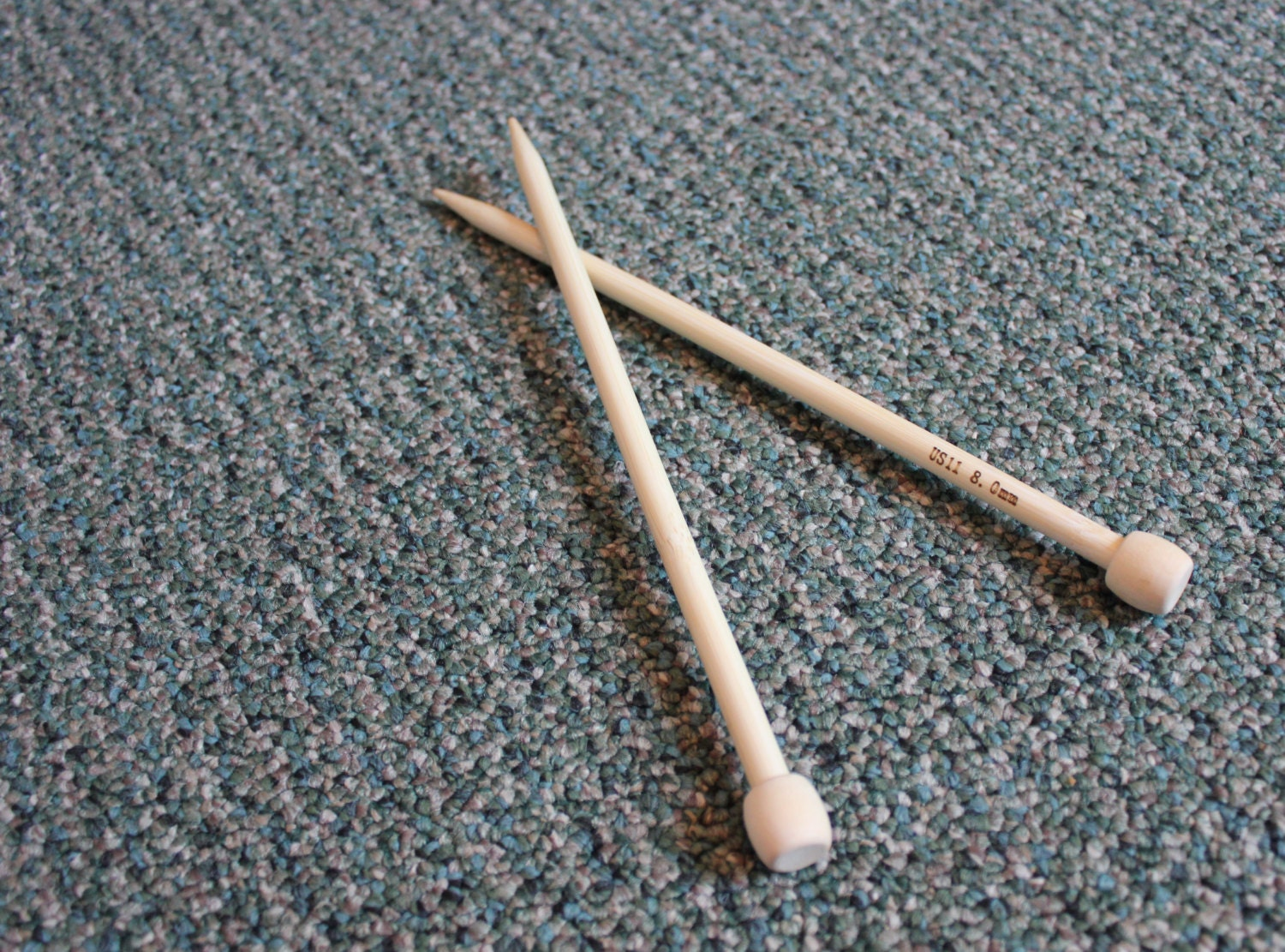 Bamboo Knitting Needles : Bamboo Knitting Needles Multiple Sizes of 9in by SparklingPumpkin