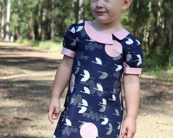 PATTERN Gallery Dress - PDF Pattern and Tutorial (Instant Download)