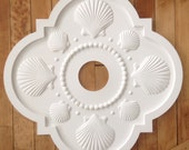 Seashell Ceiling Medallion by Marie Ricci