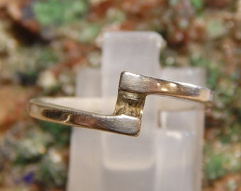 Sterling White Topaz Ring