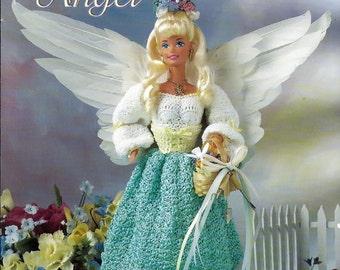 Gardening Angel Fashion Doll  Crochet Pattern  Annies Attic 870619