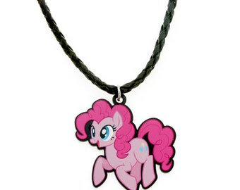 Pinkie Pie - My Little Pony Necklace