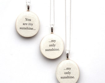 Mother daughter jewelry . Family Mom Mother daughter necklaces Mother child gift . going away gift  mothers day jewelry