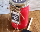 Handmade ChalkBoard Paint, Red, Painted Furniture, UpCycled Wood, Wood Art, Dinning Chairs, Furniture Paint, Chalkboards, Dinning Room Table
