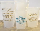 Personalized Shatterproof Party Cups