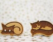 Cross Stitch Needle Minder, Choose your favorite design, Wood Magnetic Needle Minder. Hand embroidery, Needle Keeper.