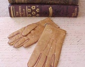 Darling Pair of Late Victorian Era Child's Leather Gloves