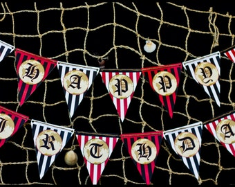 Pirate Party Banner, Pirate Party Bunting, Pirate Party Decorations, Pirate Party Supplies, Pirate Party Printables