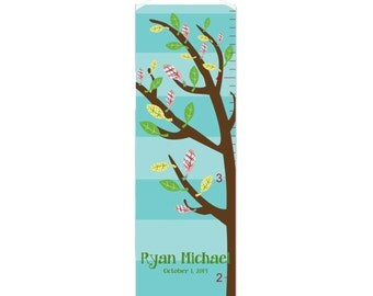 Growing Tree Personalized Growth Chart