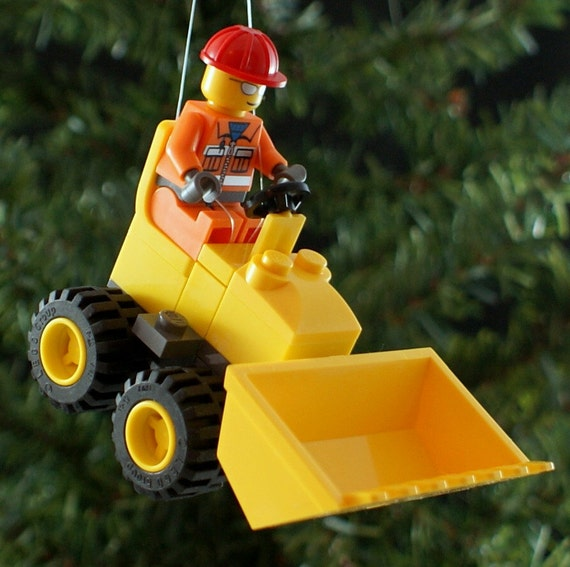 Mini bulldozer christmas tree ornament clearance for Christmas ornaments clearance
