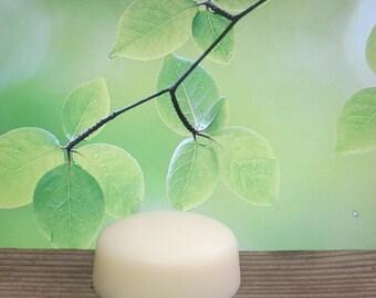 Lemongrass Organic Solid Lotion Bar Super Extra Large 7 oz.