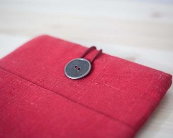 Red Kindle fire HD case/ Kindle fire HD 8.9/ Kindle Paperwhite cover/padded tablet case/ereaders case 0341