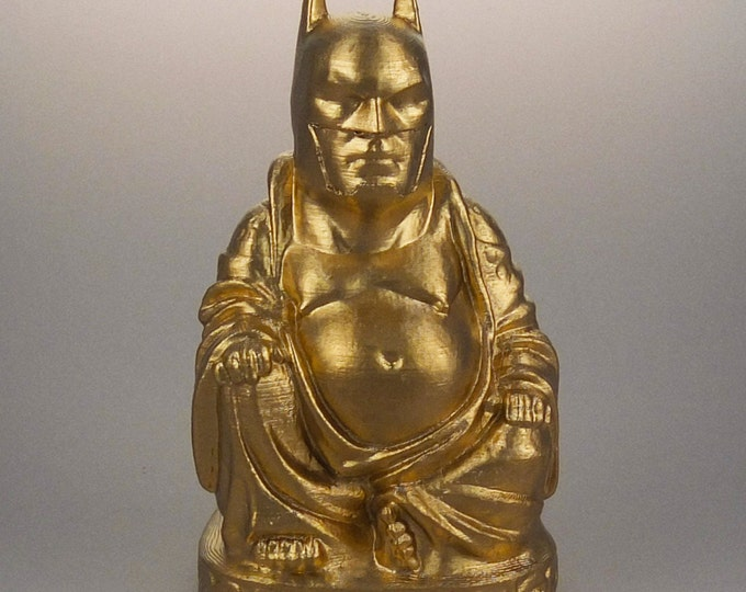 Batman Buddha (Brilliant Gold)